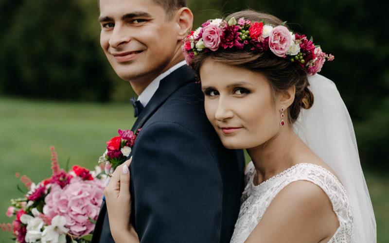 Ślub z wiankiem na głowie - Martyna i Kamil