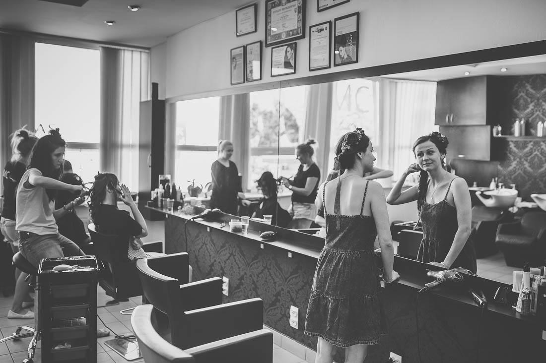 przygotowania fryzjer Puławy