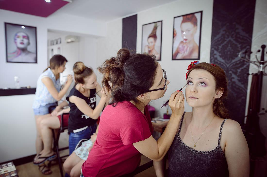 makijaż ślubny Infiniti Studio
