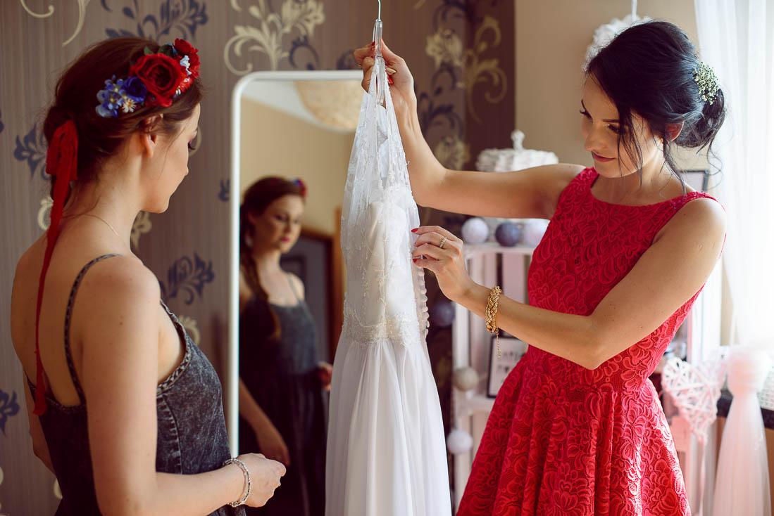 suknia ślubna Dęblin