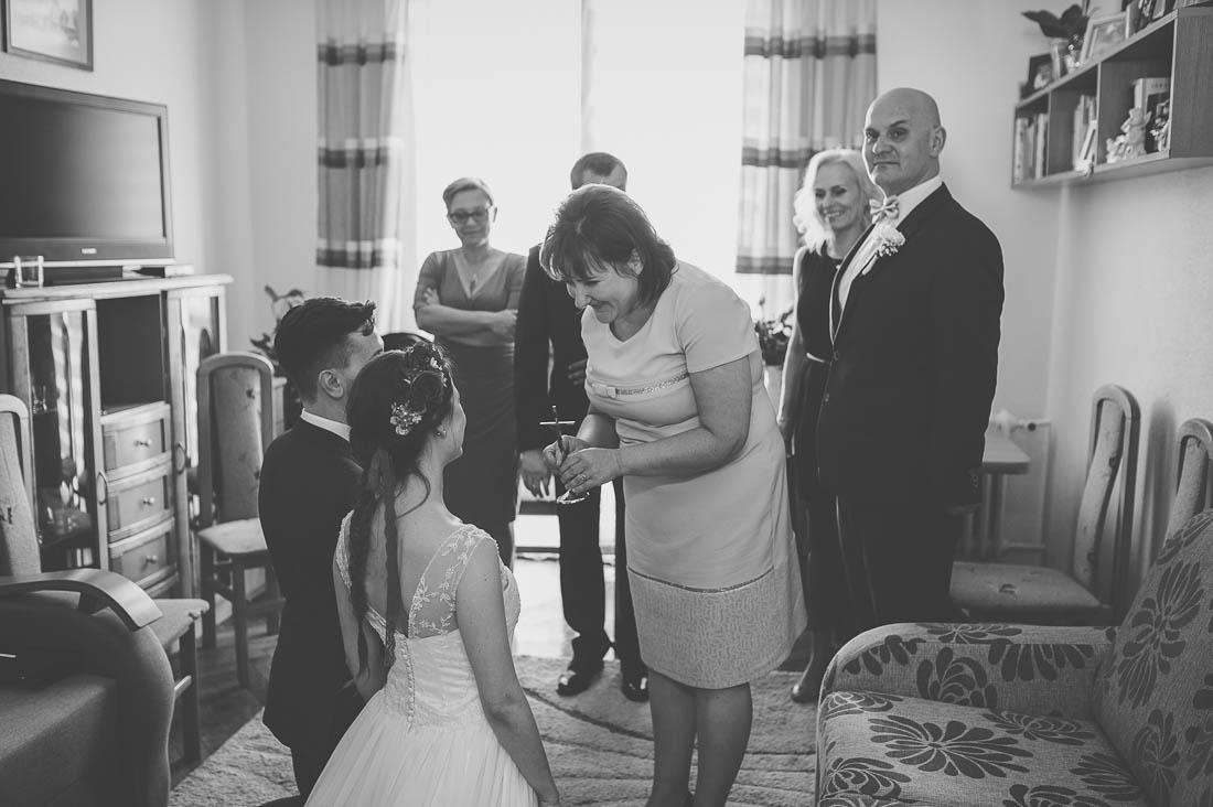 ślubne błogosławieństwo Ryki