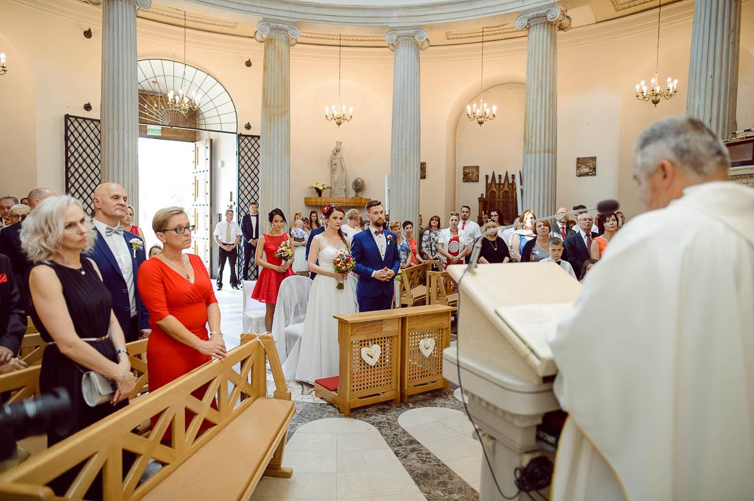 ceremonia ślubu w Puławach