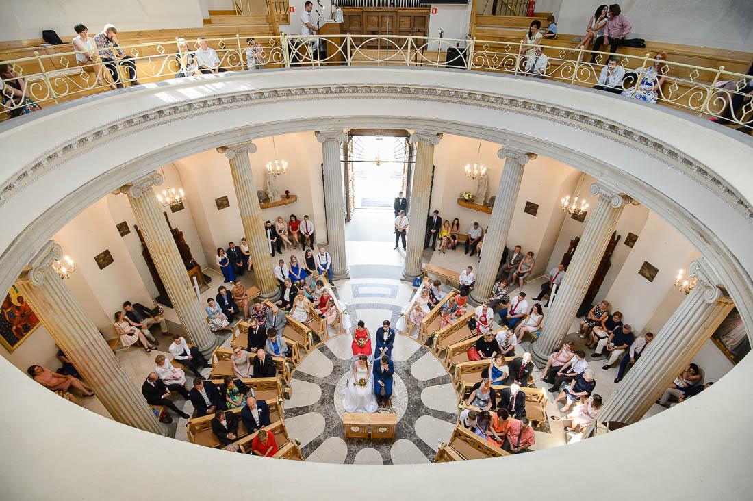 ślub w kościele na górce Puławy