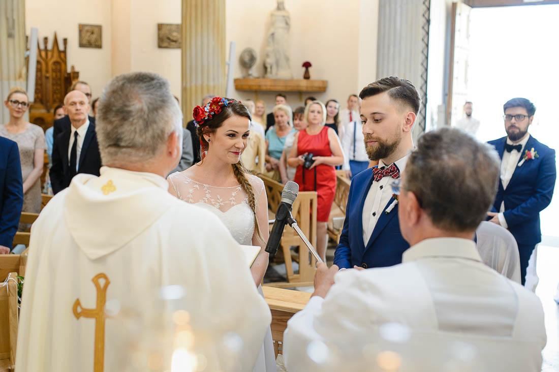 ceremonia zaślubin Puławy