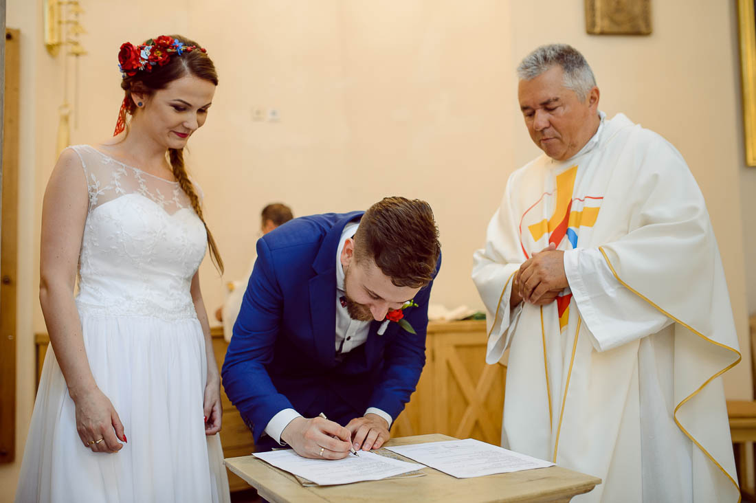 papiery ślubne