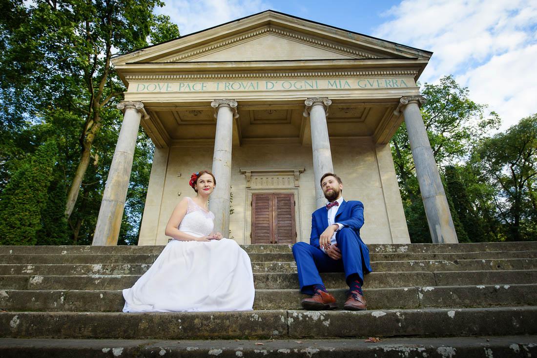 sesja ślubna w Puławach