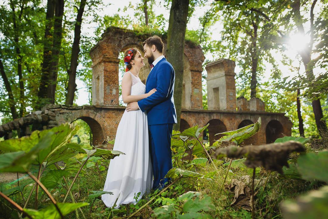 fotografia ślubna Ryki Arkadia