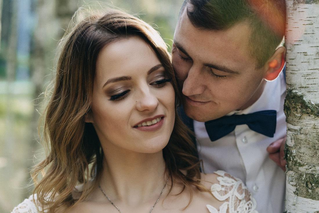 naturalne zdjęcia ślubne Puławy