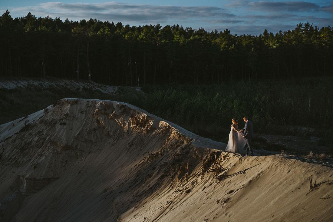 fotografia ślubna stara piaskarnia